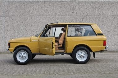 """Range Rover S1 Suffix A """"TopHat"""""""